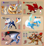 Adopts: Fairy Tales! [CLOSED!] by runandwine