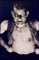 Lon Chaney Sr portrait by ArtNomad