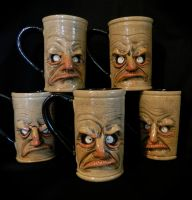Evolved Grumpy Mugs by thebigduluth