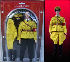 Goebbels In The Past Toys ITPT Figure by PrinceZarbon