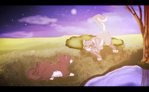 By the water hole by Bacon-Paws