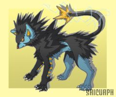 Luxray by Saicuaph