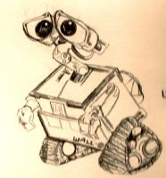 WallE by baypaintlover