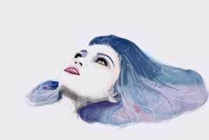 Agnes Cecile inspired by qpanopio