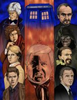 Last of the Time Lords -Color by DocRedfield