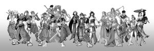 Minsan Characters Once More by minsan