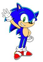 SA Style: Sonic The Hedgehog by speediothehedgehog