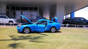 Blue Ford Mustang by BigMac1212