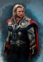 Thor study by jadenwithwings