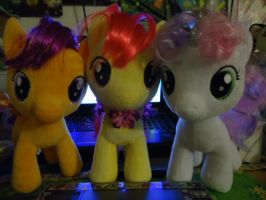 MLP BaB :Cutie Mark Crusaders: by kiraradaisuki