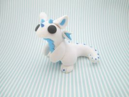 Frost Dragon by KriannaCrafts