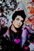 adam lambert love by elnazglambert