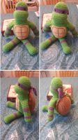 Crocheted Donatello by hollyann