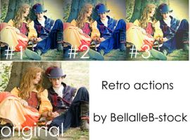 Action no.5 retro.vintage by bellalleb-stock