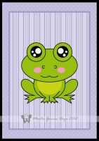 Kawaii Frog by martagd