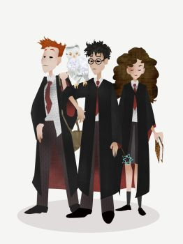 Harry Potter by PangolinPirate