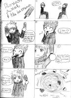 Axel Roxas and the Ice Cream by Kay-is-Dreaming