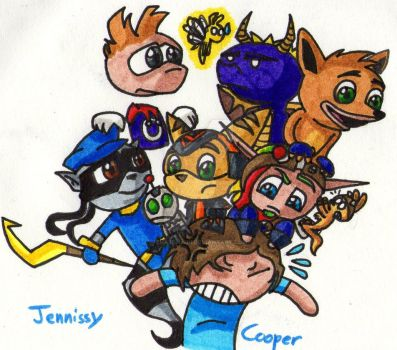 Me, the player by JennissyCooper
