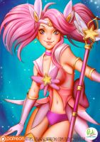 Star Guardian Lux League of legends by Didi-Esmeralda