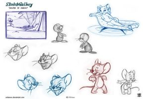 Tom and Jerry Sketch gallery 2 page 3 by celaoxxx