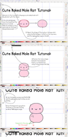 Cute Naked Mole Rat Full Tutorial by Paradasia