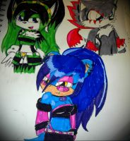 Punky's team by queenmafdet