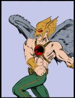 Hawkman by Heroid