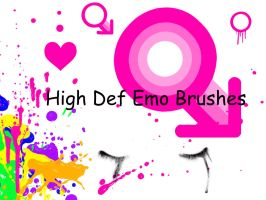 high def emo brushes by vampurity-stock