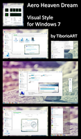 Aero Heaven Dream for Windows 7 by TiborioART