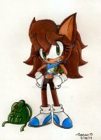 Sonar Breezy The Hedgehog (new and improved) Bio by Sonar15