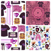 Steven Universe Patterns by ShyCustis