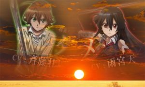 Tatsumi and Akame Wallpaper 8 by weissdrum