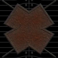 rusted cross by LuchareStock