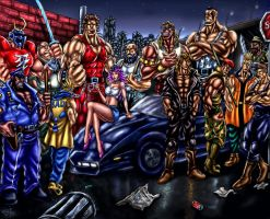 Final Fight - Mad Gear Gang by SoulStryder210