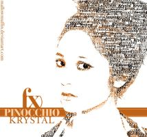 Typography: Krystal Jung by mallowmuffin