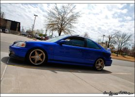 2000 Honda Civic SI by bubzphoto