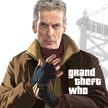 Doctor Who GTA Time Heist by Talude82