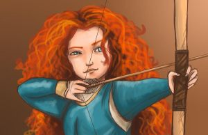 brave: merida by ekkimu