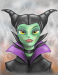 Maleficent by bigcas61