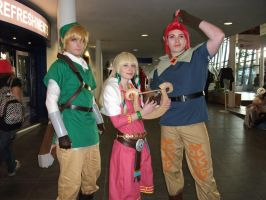 2012 MCM Telford Expo Pic Link Zelda and Groose by RoxasTsuna