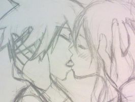 maka x soul kiss by Dimea