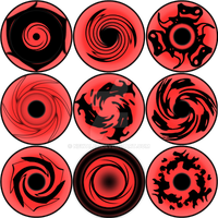 Sharingan Set 3 by newalex
