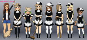 Maid Uniforms by thecoinma