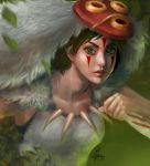 Princess Mononoke by InaWong