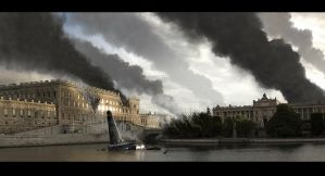 Sthlm mattepaint, no.3 by AndreeWallin