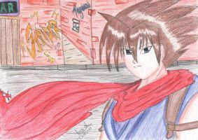 Strider Hiryu Tribute by IndyHimura
