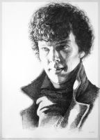 Sherlockstuffinthestrangelight by ArtKosh