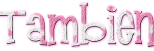 Tambien PNG Pink White by MFSyRCM