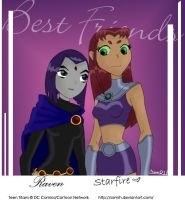 Best Friends by SamRH by teentitans