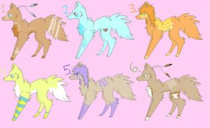 -2 Point Canine Adopts- CLOSED by SketchDumpZim